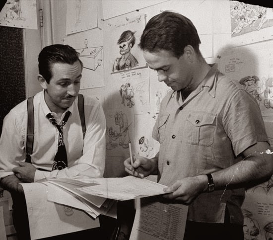 Walt Disney Ward Kimball animatedilmreviews.filminspector.com