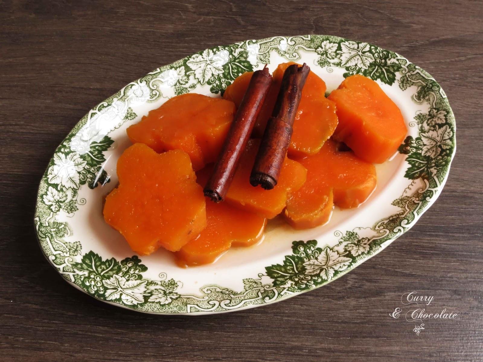 Batatas o boniatos en dulce