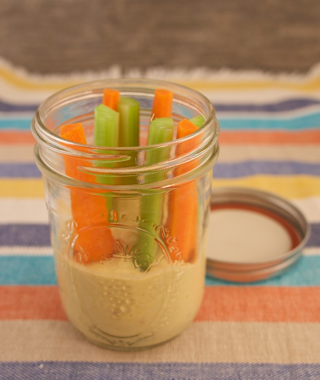 Healthy Hummus On-the-go snack