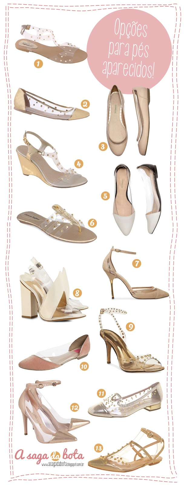 primavera verão 2014, moda, sapatos, sandálias, tendência, sandália, corello, schutz, luiza Barcelos, C&A ,nude, chique, dourado, casual, conforto, festa, branco.