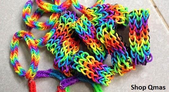 Cách làm vòng tay đồ handmade cầu vồng