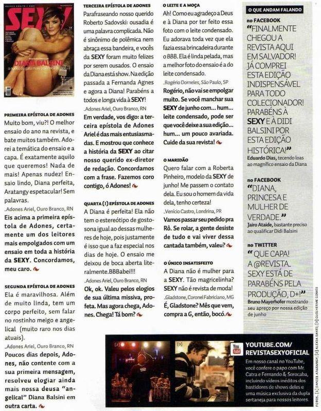 Ourobranquense Tem Tetos Destacados Nas Revistas Playboy E Sey