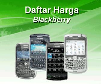 Daftar Harga BlackBerry Terbaru Oktober 2012