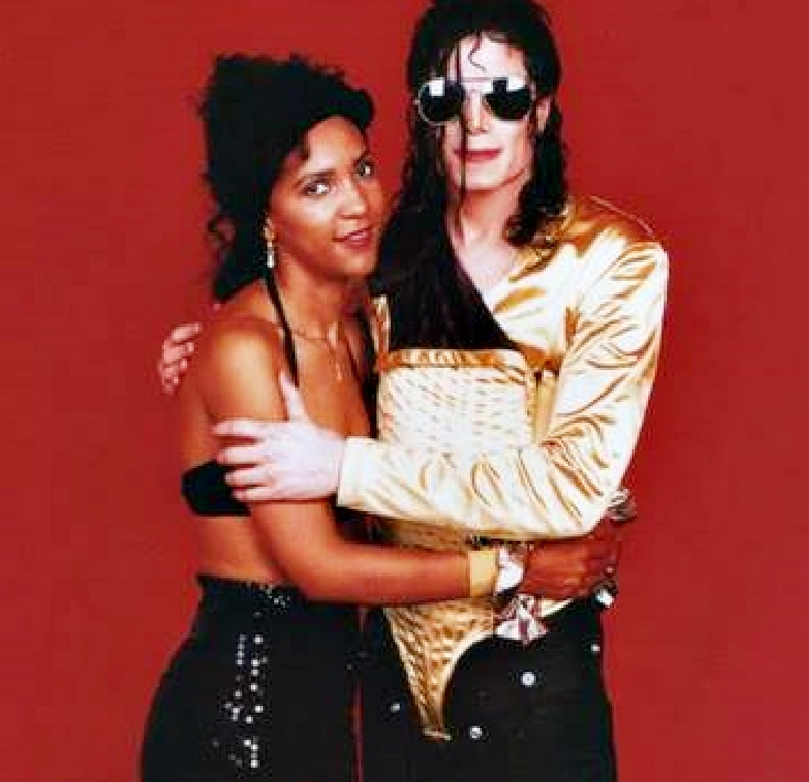 Image result for rozalla and michael jackson dangerous tour