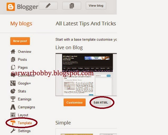 """How to remove """"Powered by Blogger"""" gadget"""