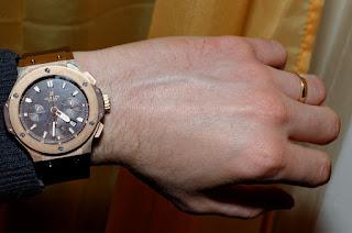 wristshot Hublot Big Bang Cappuccino Gold