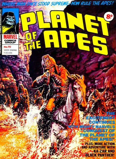 Marvel UK Planet of the Apes #70
