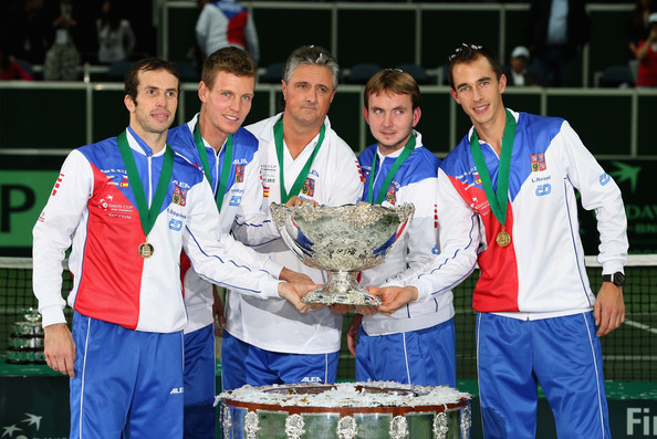 czech republic davis cup team