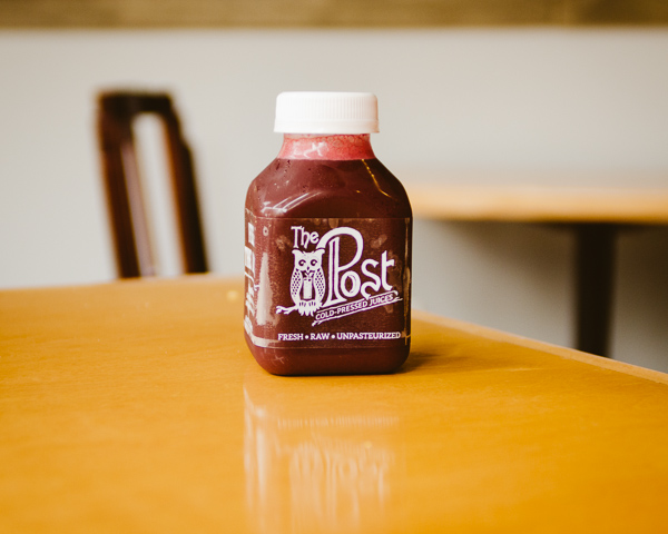 Fresh Juice at The Post East in Nashville, Tennessee
