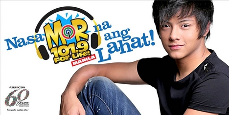 Daniel Padilla for M.O.R. 101.9 For Life! Manila