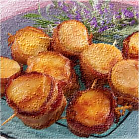 Lucie Home: Bacon Wrapped Scallops NY Recipe