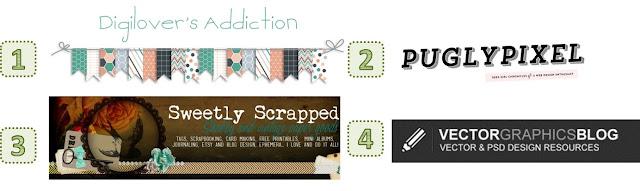 Logos de blogs con scrapbooking digital