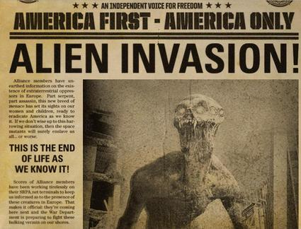 Alien Invasion Video