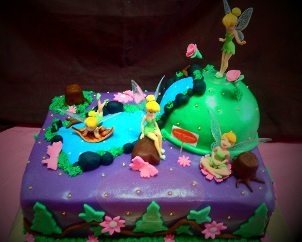 Birthday Cake Images For Advocate : Sweet Advocate Tinkerbell Cakes Sweet Advocate