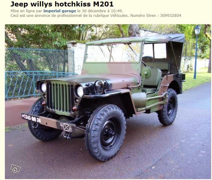 souvenez vous 44 jeep hotckiss armee francaise. Black Bedroom Furniture Sets. Home Design Ideas