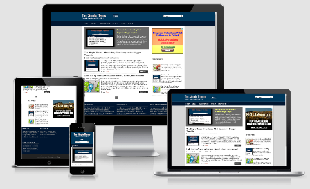 The Simplet Theme - Responsive Blogger template