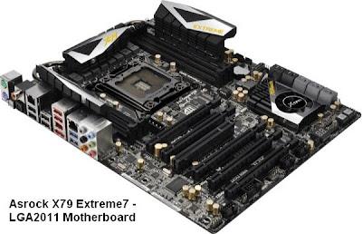Asrock X79 Extreme7 - LGA2011 Motherboard