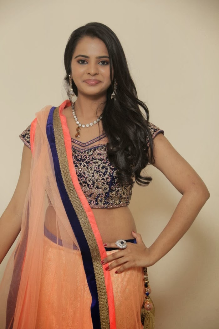 Exotic Manasa himavarsha latest hot photo gallery in saree