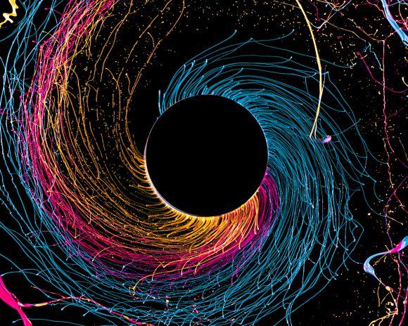 Fabian Oefner fotografia alta velocidade cores vibrantes ciência tinta furadeira