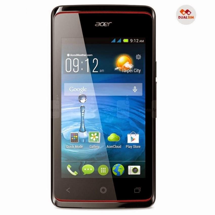 Spesifikasi dan Harga Acer Liquid Z200 Dual SIM Terupdate