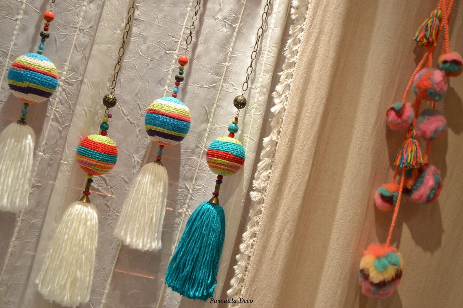 Pascuala deco colgante para cortinas - Para colgar cortinas ...