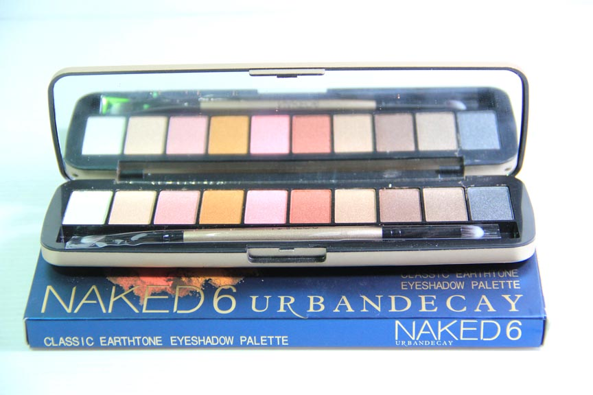 Naked6 Urban Decay Eyeshadow Palette
