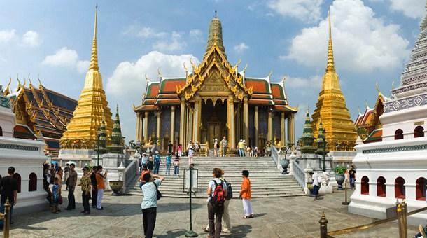Palacio Real de Bangkok en Tailandia