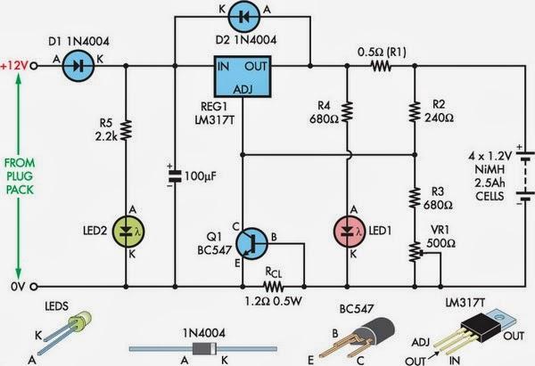 Muchos Circuitos Electronicos Cargador Para Bater 237 As Nimh