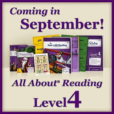 All About Reading Level 4 is due for release on September 4th. Save $20 and enter a giveaway for this reading curriculum. #homeschool #reading