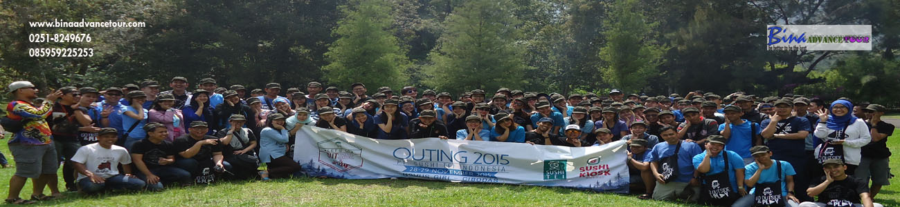 OUTBOUND FAMILY GATHERING DI BOGOR