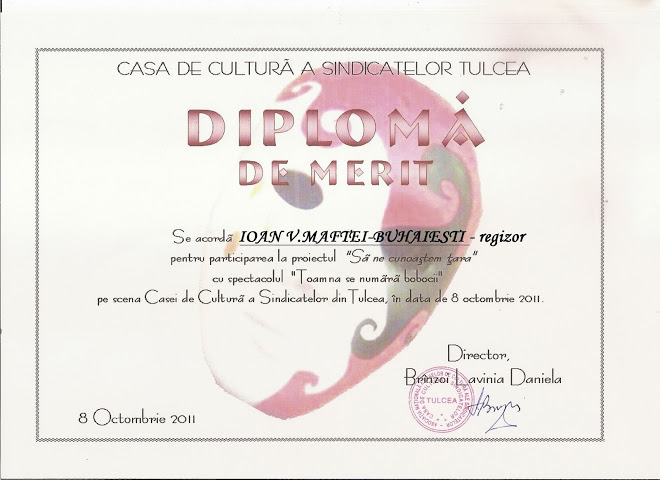 DIPLOMA DL.PROF. IOAN V.MAFTEI TULCEA