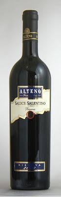 アルテーノ サリーチェ・サレンティノ・リゼルヴァ 2009