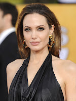 hot, sexy, angelina, jolie, image, collection, cleavage, show