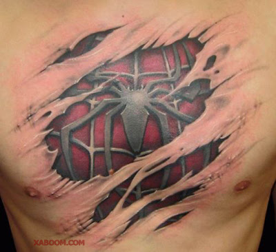 Tatuaje de Spiderman