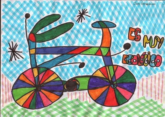 La bicicleta según Miró