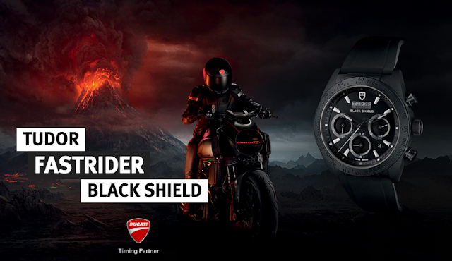 Tudor Fastrider Black Shield XDiavel