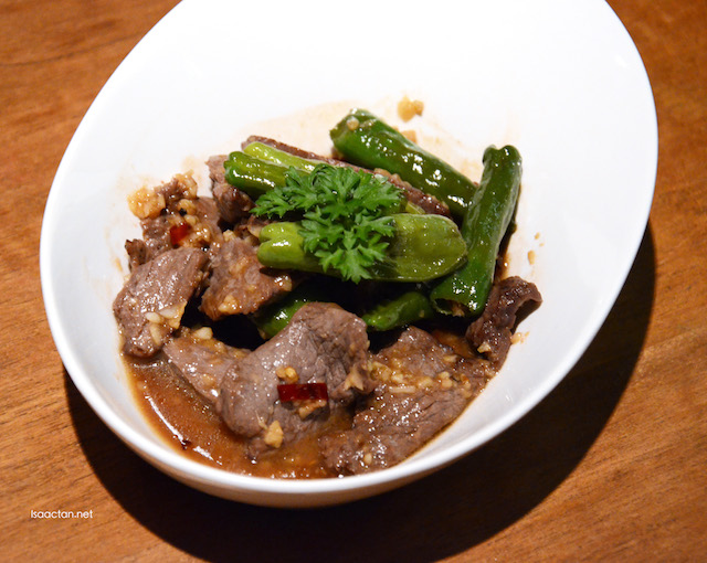 Stir Fried Lemongrass Beef - RM46