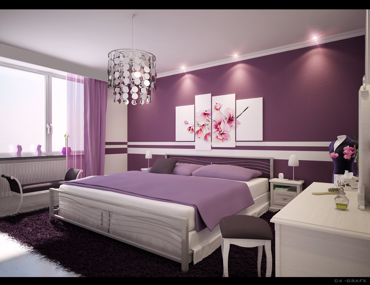 Perfect Purple Bedroom Design Ideas 1280 x 985 · 201 kB · jpeg