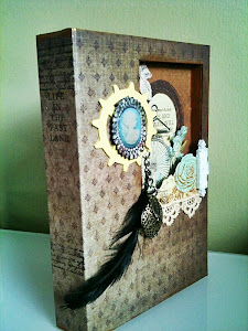 Vintage Memory Book Box