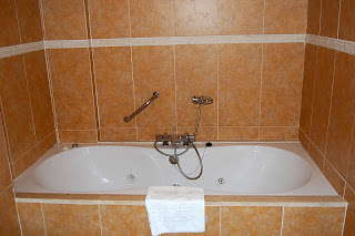 bañera con hidromasaje