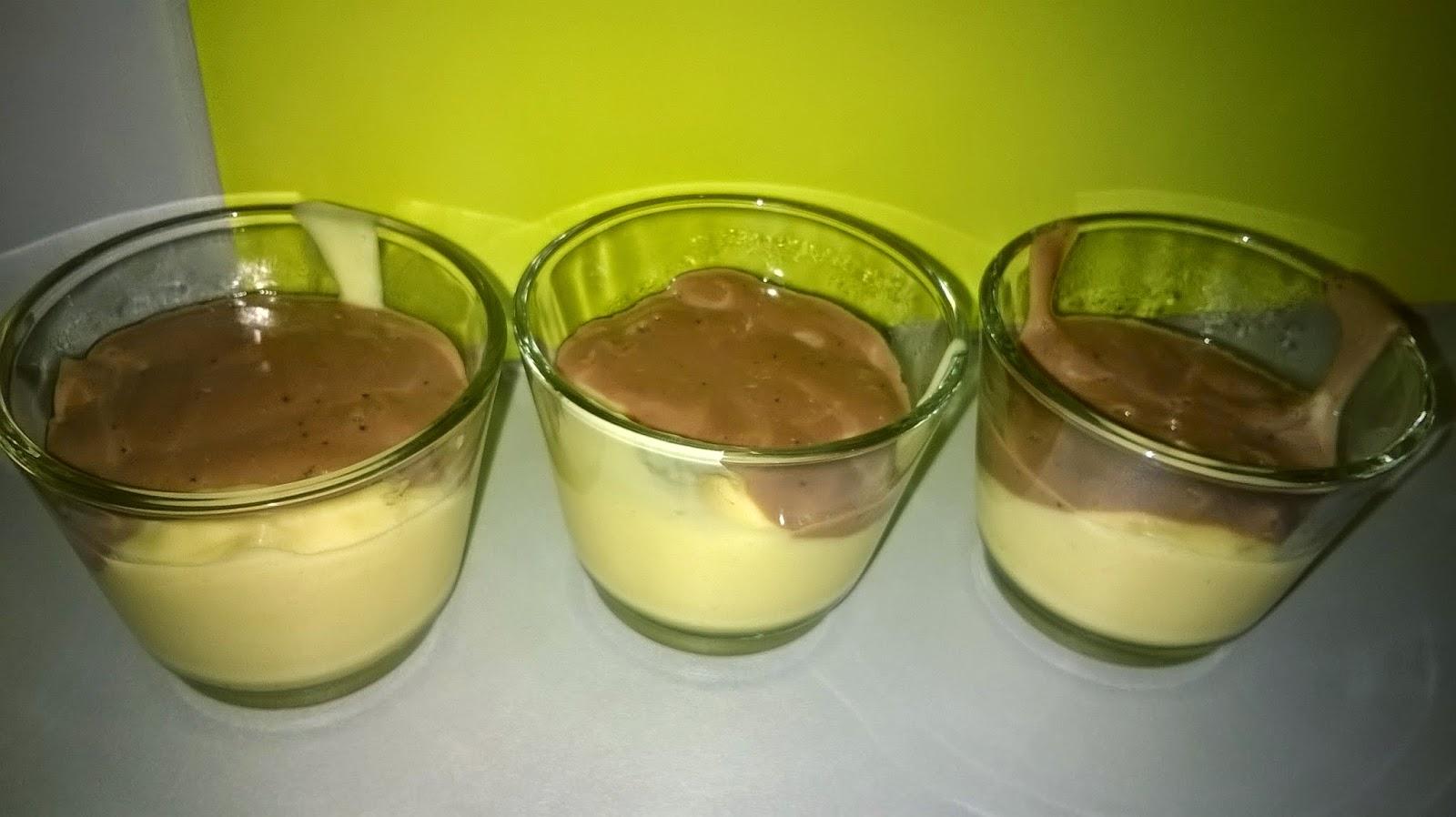 Crème chocolat vanille