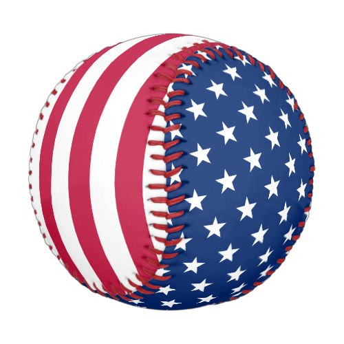 Patriotic American Flag Baseball