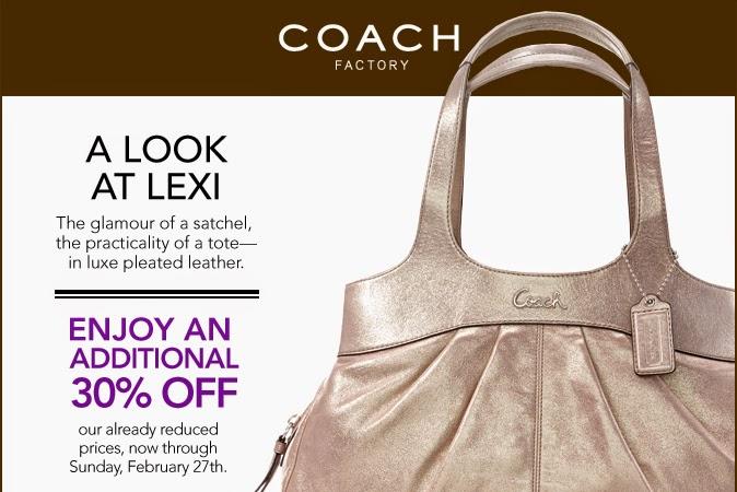 Coach discount coupons 2019