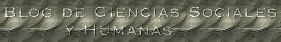 Blog de Ciencias Sociales y Humanas