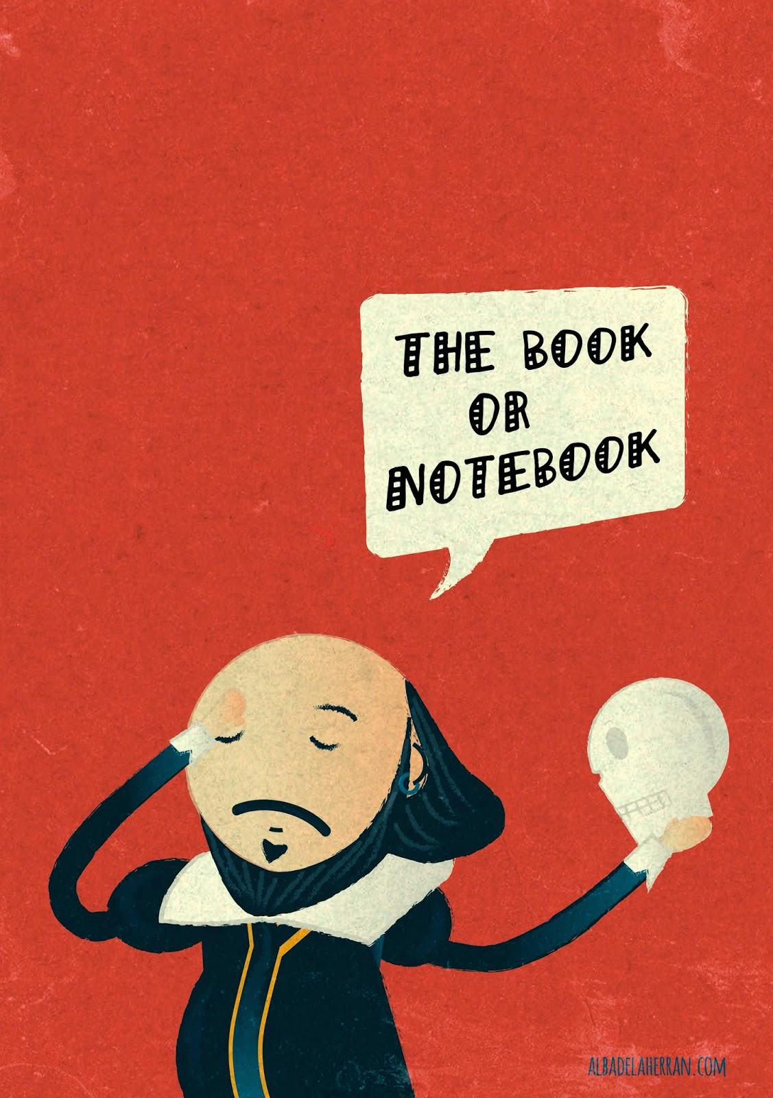 Portada bloc Shakespeare