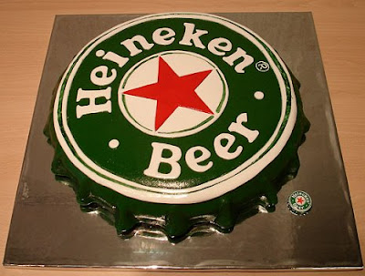 Bolo de Heineken