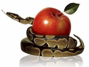 Serpente foi punida por dizer a verdade