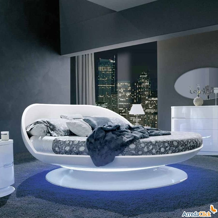 arredaclick mobilier italien lits ronds design carisme et formes harmonieuses. Black Bedroom Furniture Sets. Home Design Ideas
