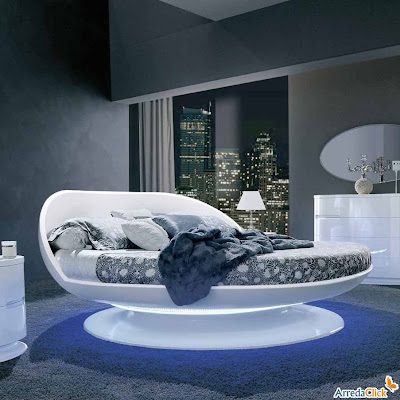 arredaclick mobilier italien lits ronds design carisme. Black Bedroom Furniture Sets. Home Design Ideas