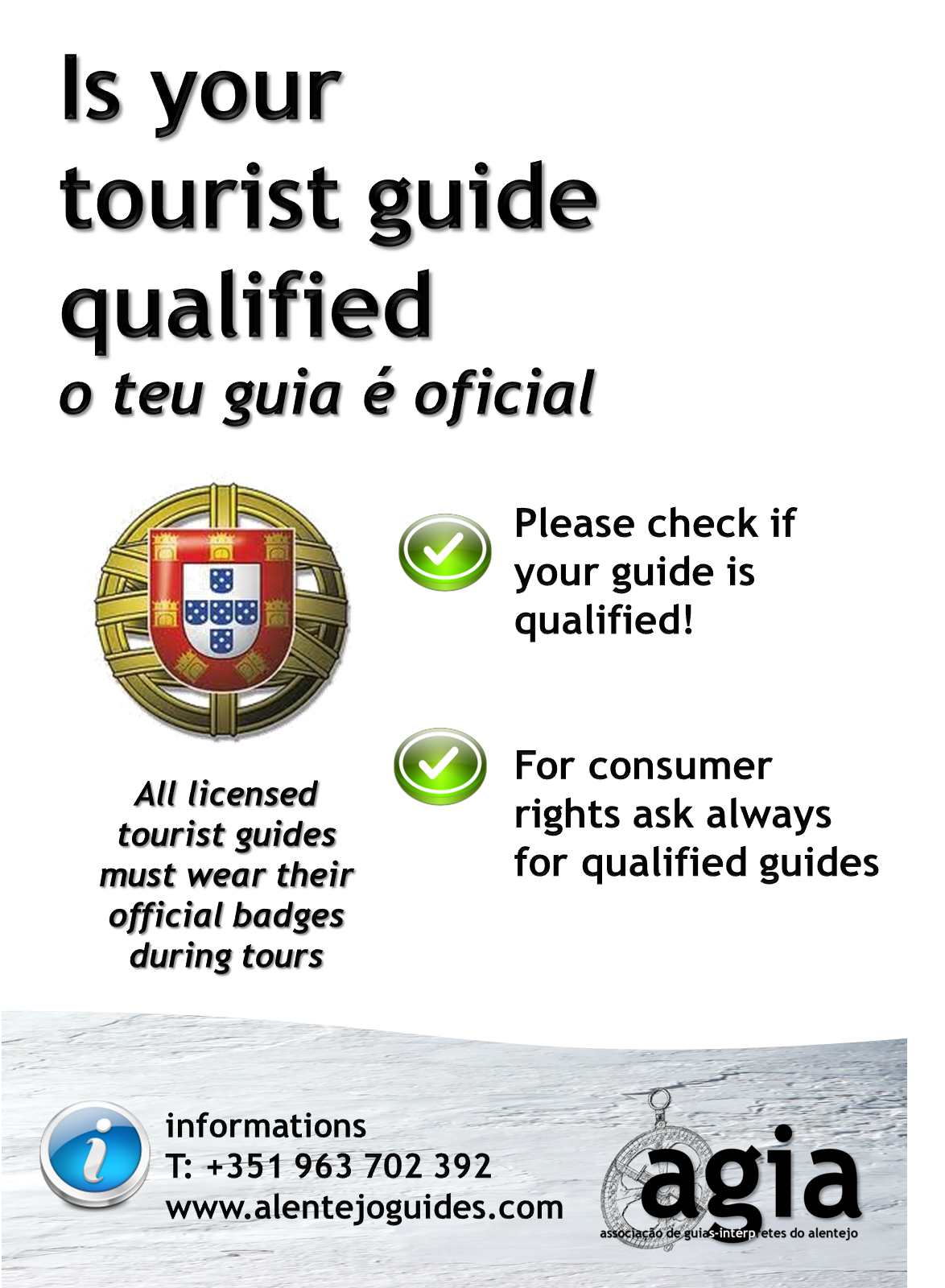 Qualified Guides